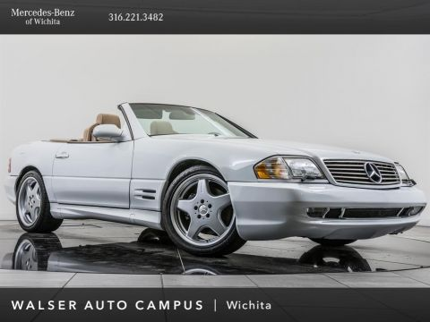 Pre-Owned 2001 Mercedes-Benz SL-Class SL500, Hard & Soft Top, Power Seats