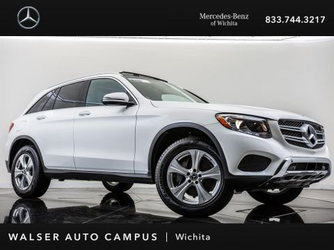 Pre-Owned 2018 Mercedes-Benz GLC GLC 300 4MATIC Panorama Roof, Rearview Camera