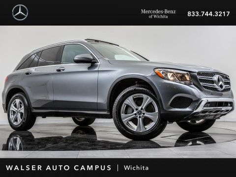 Pre-Owned 2018 Mercedes-Benz GLC GLC 300 4MATIC, Blind Spot Assist, Heated Seats