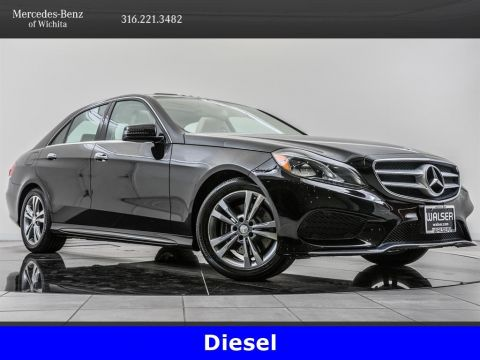 Pre-Owned 2015 Mercedes-Benz E-Class E 250 Luxury BlueTEC 4MATIC®, Diesel, Premium 1 Pkg