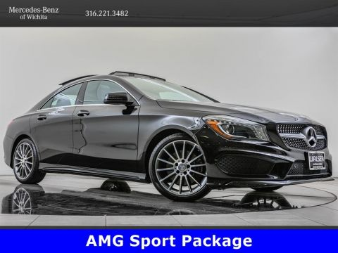 Pre-Owned 2016 Mercedes-Benz CLA CLA 250 4MATIC, Sport Package, 18-Inch AMG® Wheels