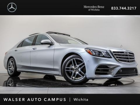Pre-Owned 2018 Mercedes-Benz S-Class S 450 Navigation, Burmester, Panorama Sunroof