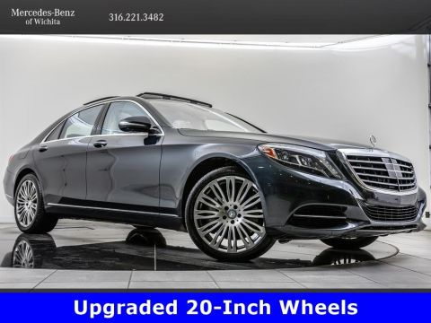 Pre-Owned 2015 Mercedes-Benz S-Class S 550, 20-Inch Wheels, Premium 1 Package