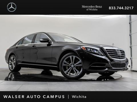 Pre-Owned 2015 Mercedes-Benz S-Class S 550 4MATIC Navigation, Panoramic Roof, Burmester
