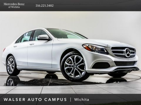 Pre-Owned 2016 Mercedes-Benz C-Class C 300 Sport 4MATIC®, Premium Package