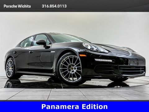 Pre-Owned 2016 Porsche Panamera Edition, Premium Package Plus, Upgraded Wheels