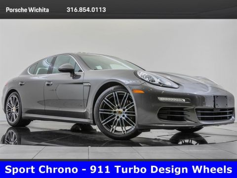 Pre-Owned 2016 Porsche Panamera S, Sport Chrono, Premium Package Plus