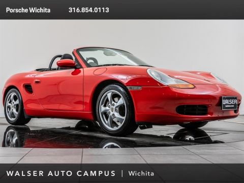 Pre-Owned 2002 Porsche Boxster Boxster Design Wheels, Sport Package
