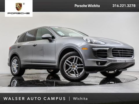 Certified Pre-Owned 2017 Porsche Cayenne Certified Pre-Owned