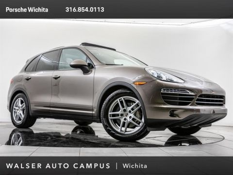 Pre-Owned 2011 Porsche Cayenne S, 2-Tone Umber Light Tartufo, 19 Cayenne Wheels