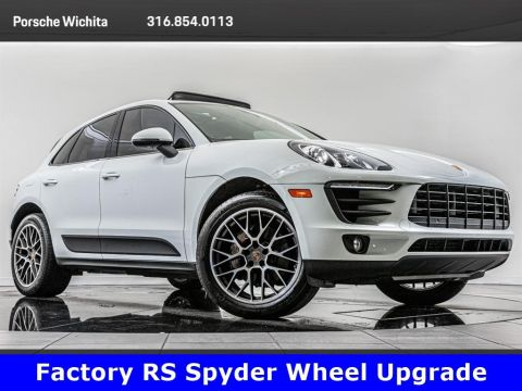 Pre-Owned 2017 Porsche Macan S, Premium Package Plus, Factory Wheel Upgrade